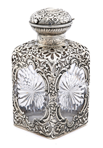 American art nouveau bottle