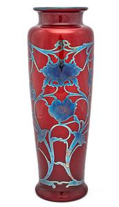 American art nouveau vase