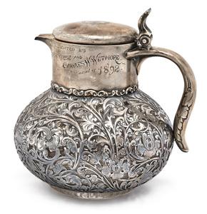 American art nouveau  pitcher