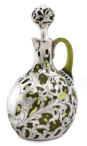 American art nouveau handled jug