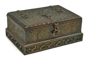 Tiffany Studios cigar box
