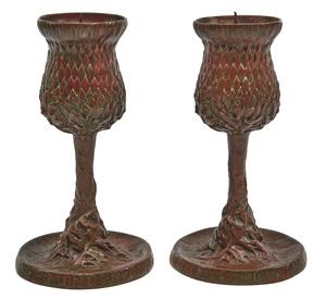 Tiffany & Co. candleholders