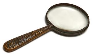 Tiffany Studios magnifying glass