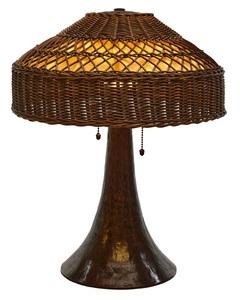 Gustav Stickley lamp